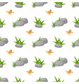 Stone rock seamless pattern nature architecture