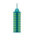 urban skyscraper isolated icon vector image