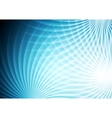 Abstract bright blue background vector image