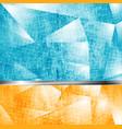 Abstract grunge tech backdrop vector image vector image