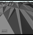 Abstract mountain landscape background vector image vector image