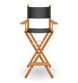 director cinema chair stock vector image vector image