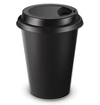Disposable coffee cup isolated vector image vector image