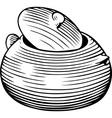 Pot vector image vector image