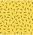 retro memphis pattern - seamless background vector image vector image