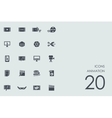 Set of animation icons vector image