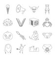 sports animal education and other web icon in vector image vector image