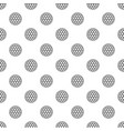black and white golf ball pattern vector image vector image
