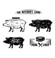 black pig symbol vector image