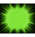 Green Corona vector image vector image