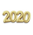 happy new year 2020 holiday background vector image vector image