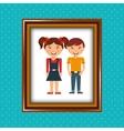parent picture design vector image