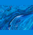 blue marble abstract background texture indigo vector image