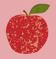 fruit red apple clip art vector image vector image