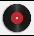 gramophone or vinyl record audio classic plastic vector image