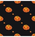 Halloween background with pumpkins vector image vector image