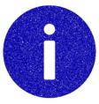 info icon grunge watermark vector image