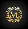 luxury logo classic and elegant l vector image vector image