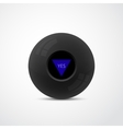 Magic Ball With Answer vector image vector image