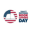 national book lovers day august 9 holiday