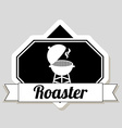 roaster design vector image