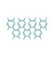 science molecule logo vector image