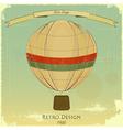 Vintage Balloon vector image