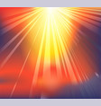 heavenly light background vector image