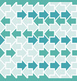arrows seamless geometric pattern vector image vector image
