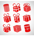 gift set vector image