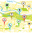 Gps icons vector | Price: 1 Credit (USD $1)