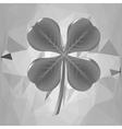 Grey Leaf vector image