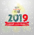 Happy new year vector image vector image