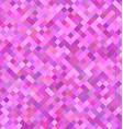 Pink square pattern background design vector image vector image