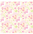 seamless children things pattern vector image