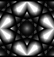 seamless pattern of abstract balck and white vector image vector image