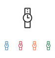watch icon vector image vector image