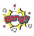 Popart comic speech bubble boom effects