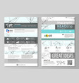 blog graphic business templates page website vector image vector image