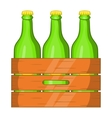 Box of beer icon cartoon style vector image vector image
