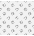 Bugs seamless pattern vector image vector image