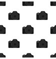 digital camera icon in black style isolated on vector image vector image