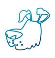 dog pet cartoon vector image vector image