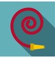 Hose icon flat style vector image