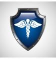 symbol medicine health icon vector image vector image