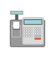 cash register for business concept vector image vector image