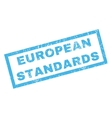 European Standards Rubber Stamp vector image vector image