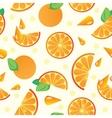 orange pattern vector image