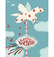 Carousel Horse and Apples Happy Birthday Card
