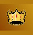 esport logo design vector image vector image